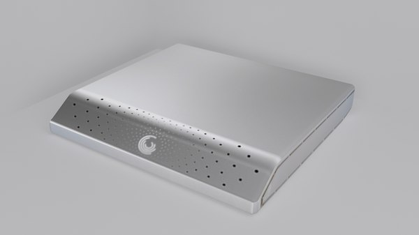 seagate external hard disk 3d 3ds