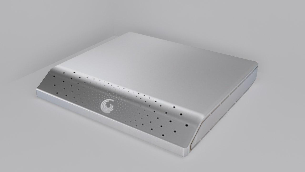 seagate external hard disk 3d 3ds