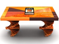 3ds max table wood