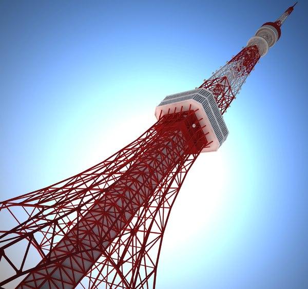 tokyo tower 3d 3ds