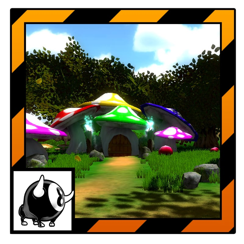 unity fantasy forest ready 3d 3ds