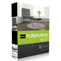 CGAxis Models Volume 25 Furniture III MentalRay