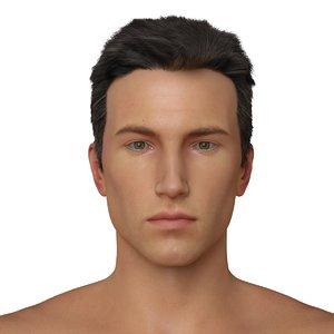 male character realistic 3d model