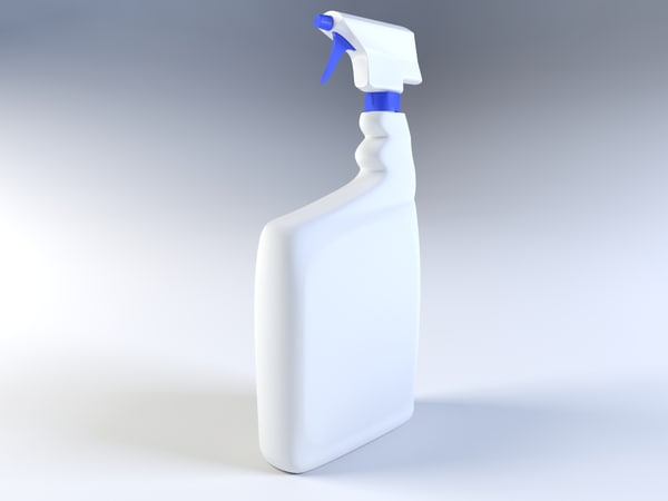 3d model bottle nozzle