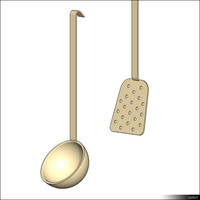 free kitchen tool 3d model