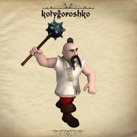 poser character kotygoroshko pz3