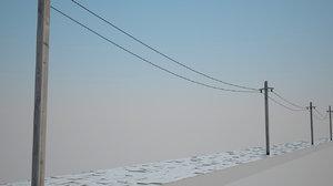 fbx powerline old road