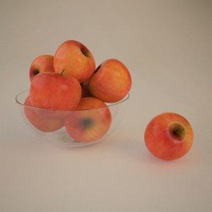 apples 3d 3ds