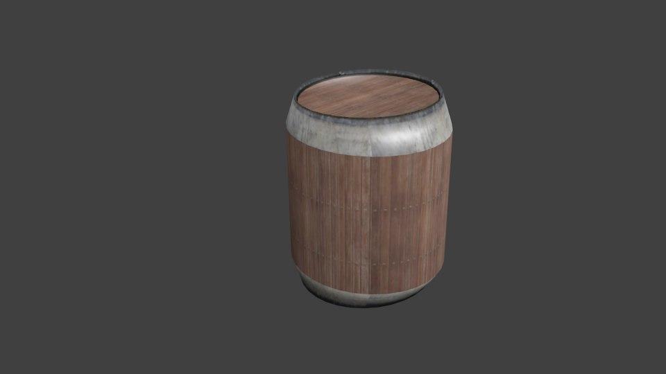 3ds max barrel environment