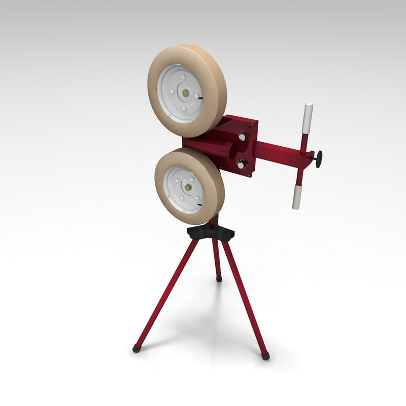 3d baseball pitching machine