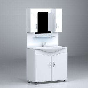 3d max bath shelf