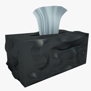 3d box napkins