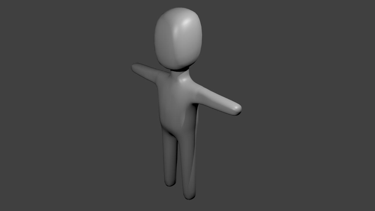 free blend model character