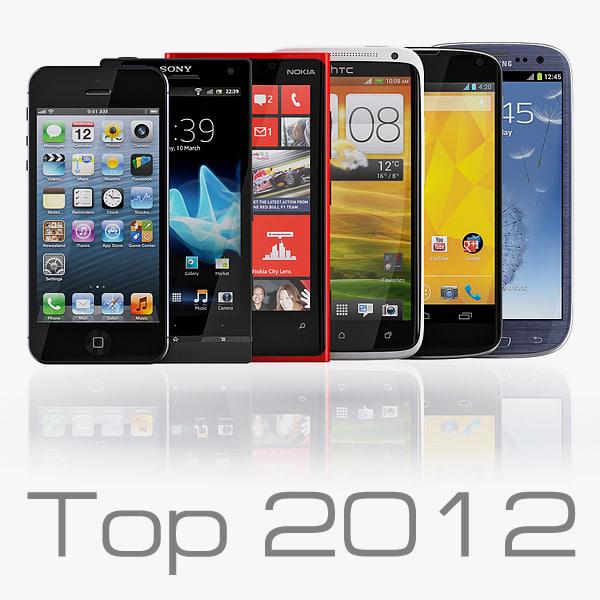 3d smartphones 2012 - s model