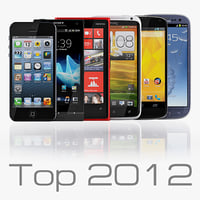 Collection top smartphones 2012 - 2013
