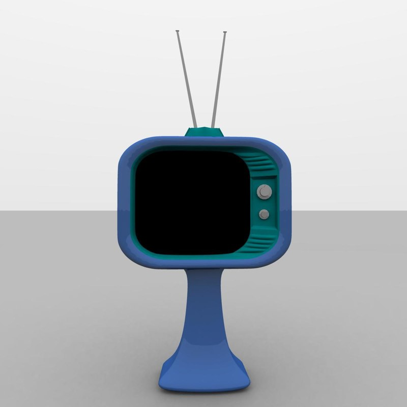 crt television 3ds free