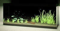 3d fish tank parametric