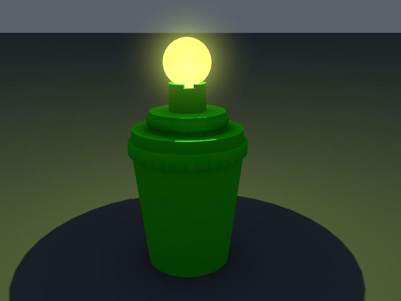 3d games lamp