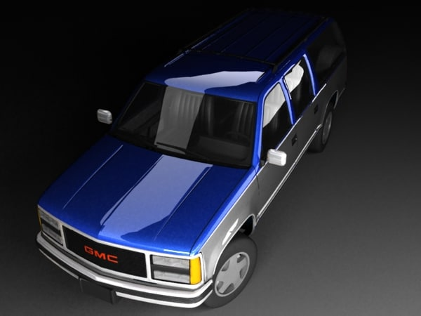 3d gmc suburban mk9 model