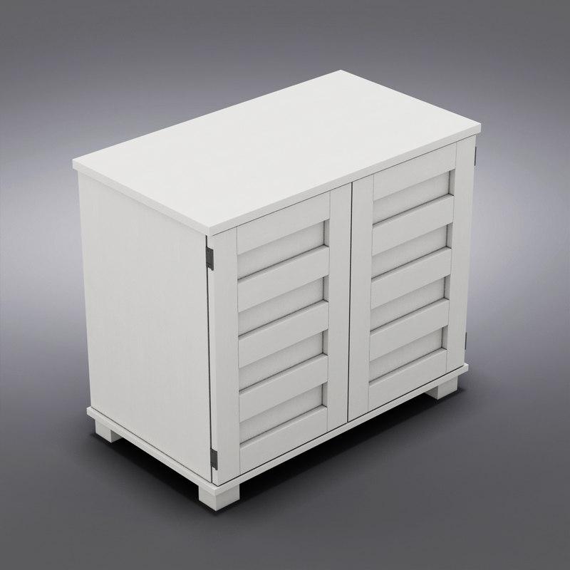 3d crate barrel - incognito