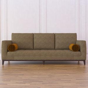 3d model 2513 sofa rudin antibes
