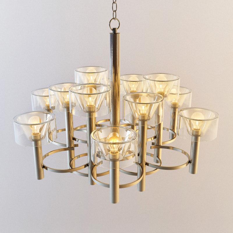 italian circular motiff chandelier max