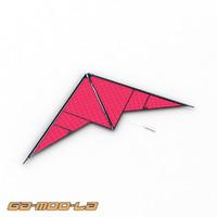 3d toy kite model