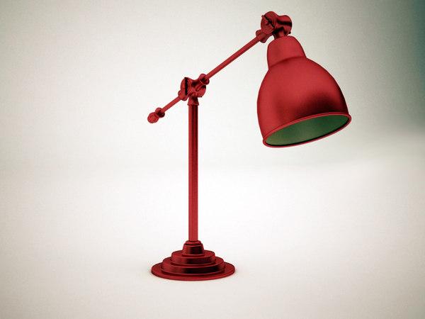 free max model table-lamp