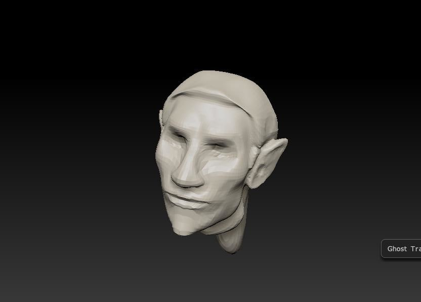 free base elf male 3d model