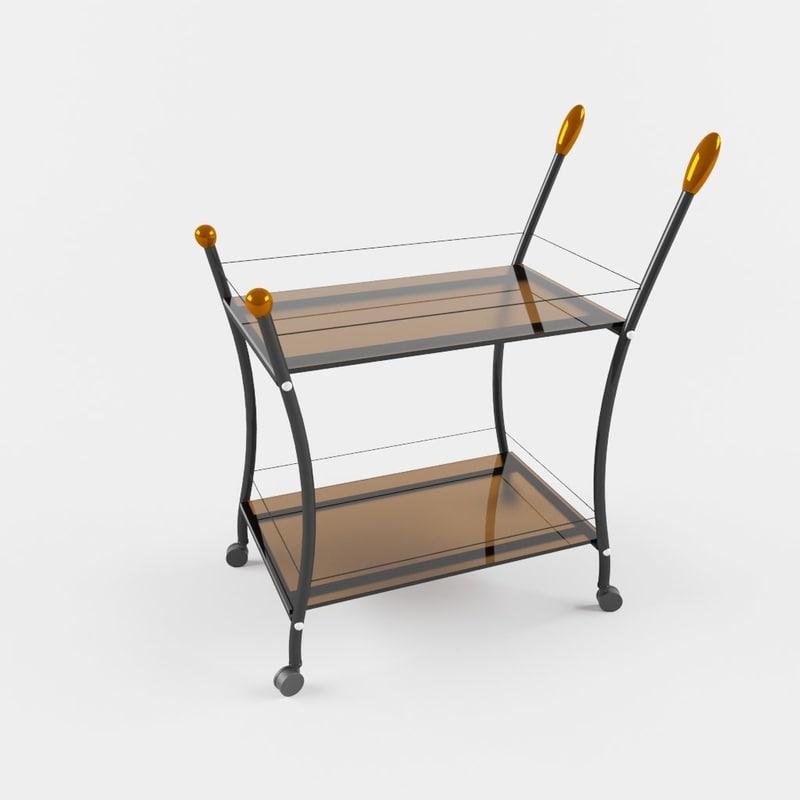 3d model tables polo