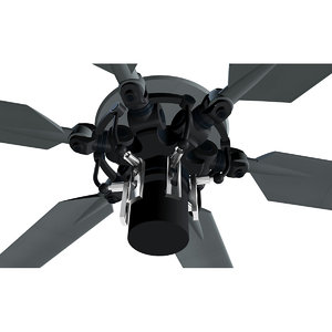 3d model helicopter rotor
