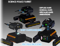 Science Police Turret