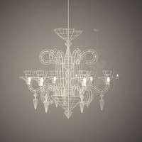 3d max wire chandelier atelier abigail