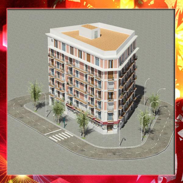 3d building 23