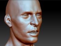 Male head004