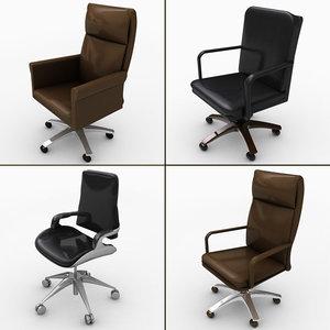c4d office chair
