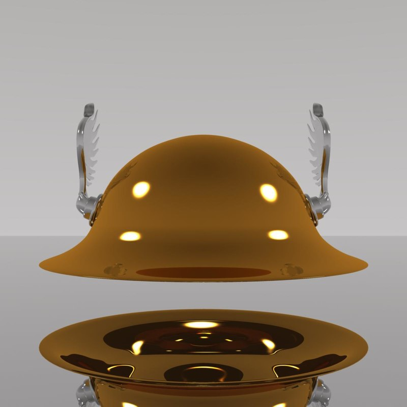 3ds max hermes helmet olympus