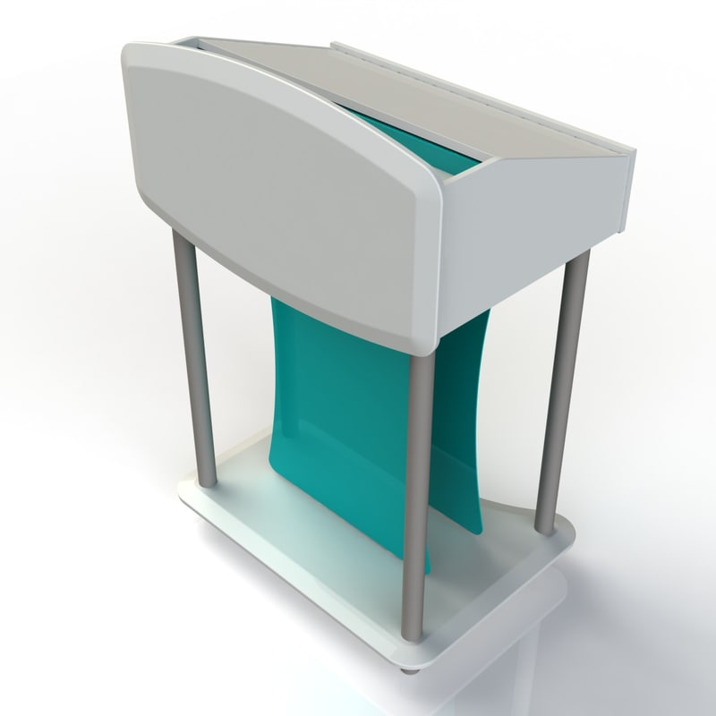 3d stand furniture office model