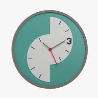 3d model of clock