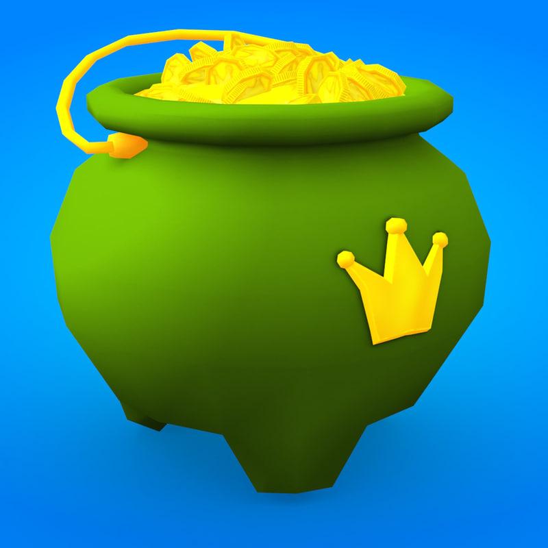 max gold pot