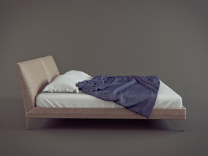 max bed b italia selene