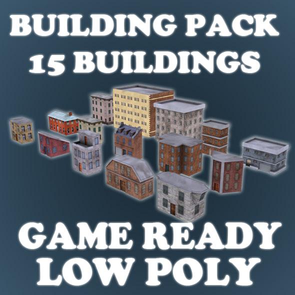 max buildings games pack