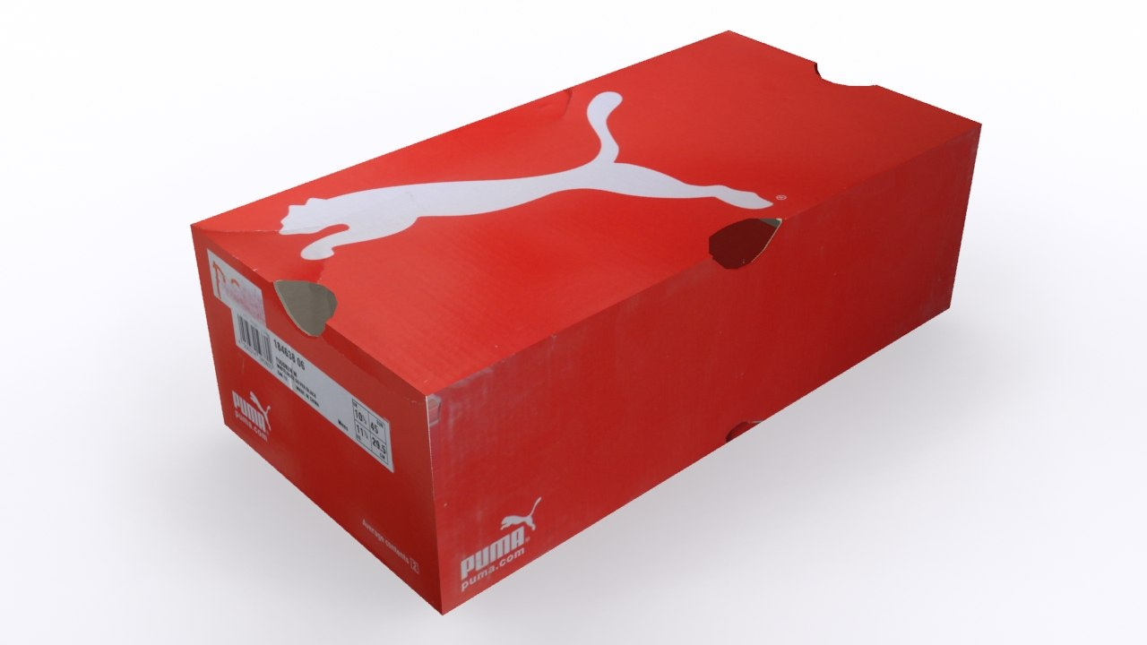 3d model new shoe box 2