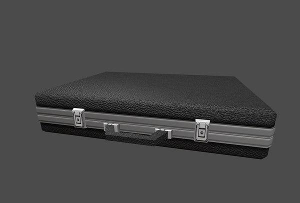 briefcase cash obj