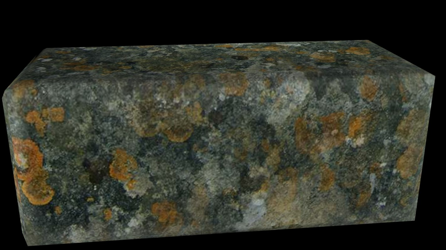 free wallstone stone 3d model