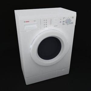 3d wash machine bosh