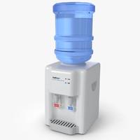 water cooler 3d max