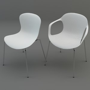 3d nap chairs model
