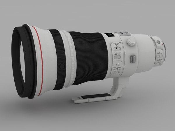 3ds lens canon 400 2