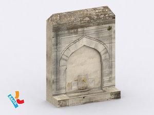 ottoman fountain 3ds